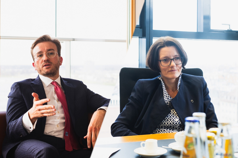 Dustin Schwerdtfeger & Annette Keller