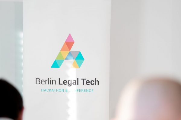 Banner des Berlin Legal Tech 2019