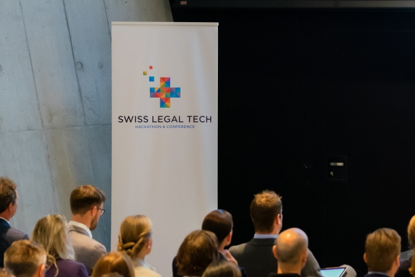 Swiss Legal Tech 2019 Banner