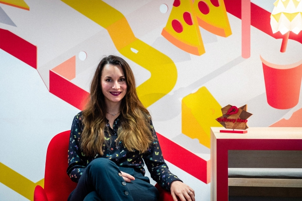 Anna Halmer, Deputy General Counsel von Delivery Hero