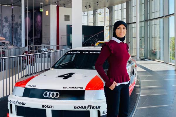 Fatina Hussain, Legal Counsel von Audi