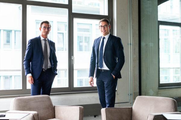 David Jandrasits und Markus Huber